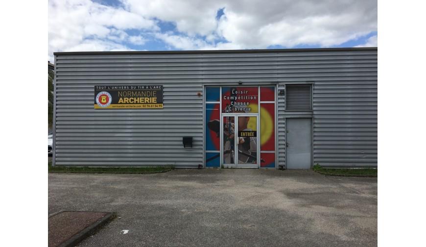 Votre archerie est aussi une boutique physique au 63 Boulevard Charles de Gaulle au PETIT QUEVILLY